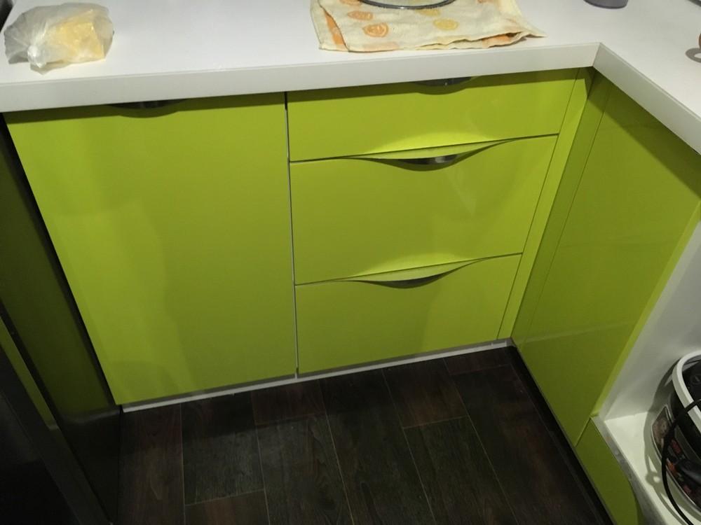 Встроенная кухня-Кухня МДФ в ПВХ «Модель 315»-фото1