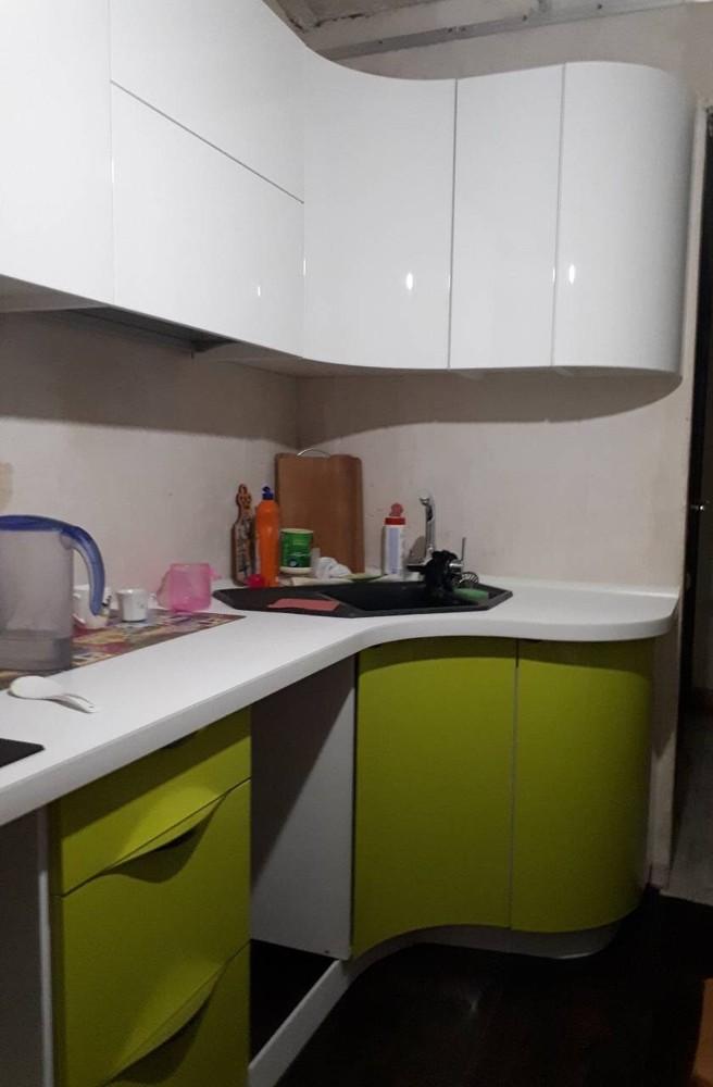 Встроенная кухня-Кухня МДФ в ПВХ «Модель 315»-фото2
