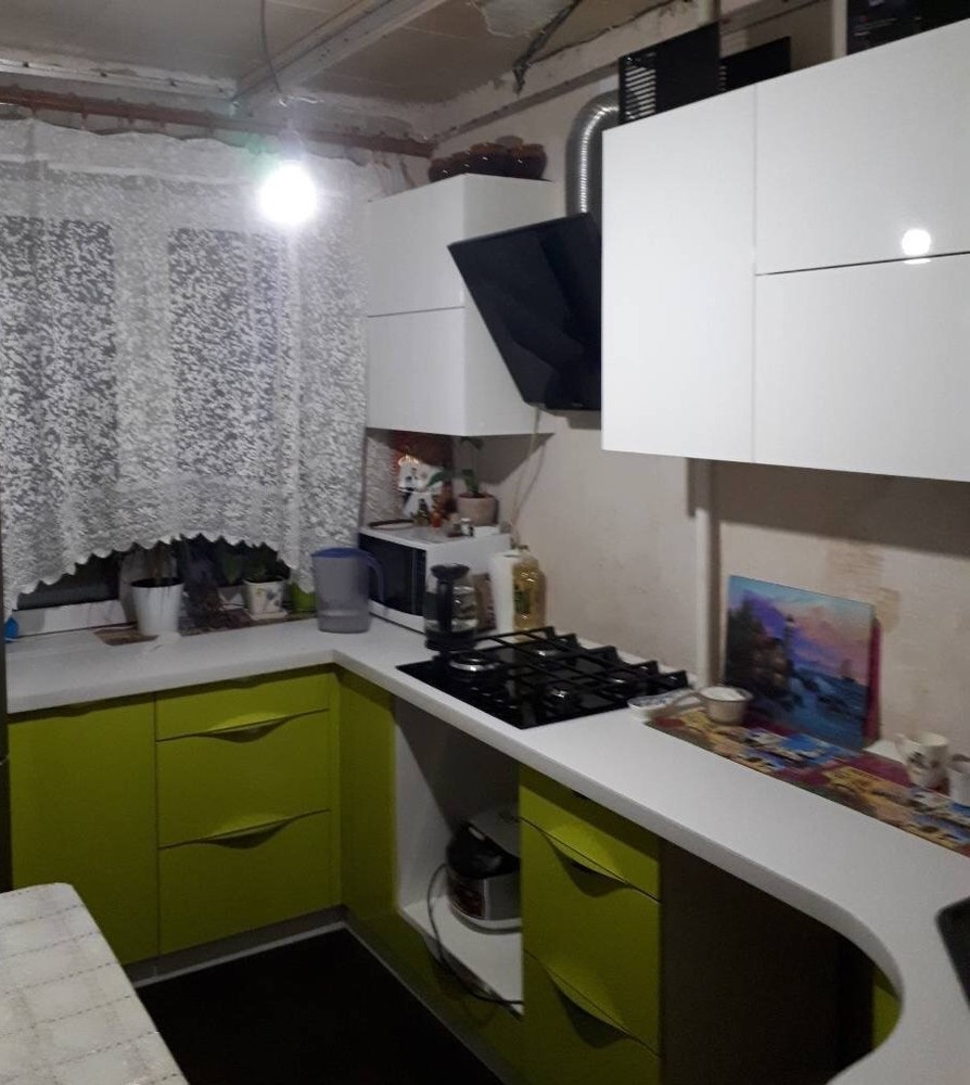 Встроенная кухня-Кухня МДФ в ПВХ «Модель 315»-фото5