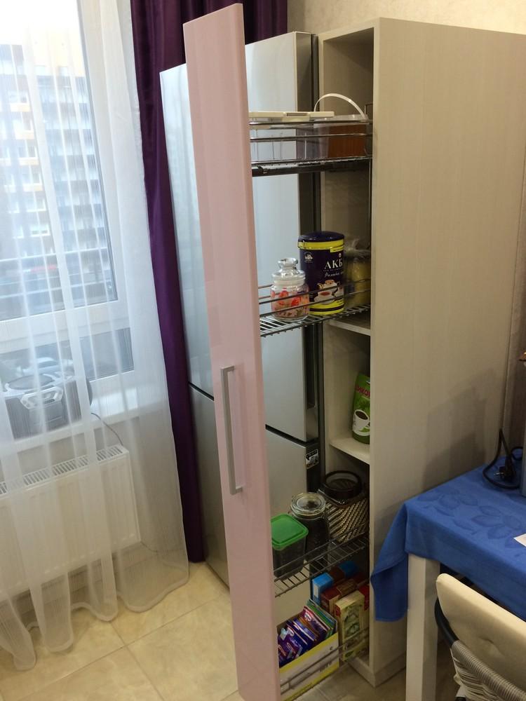 Акриловые кухни-Кухня из пластика «Модель 110»-фото5