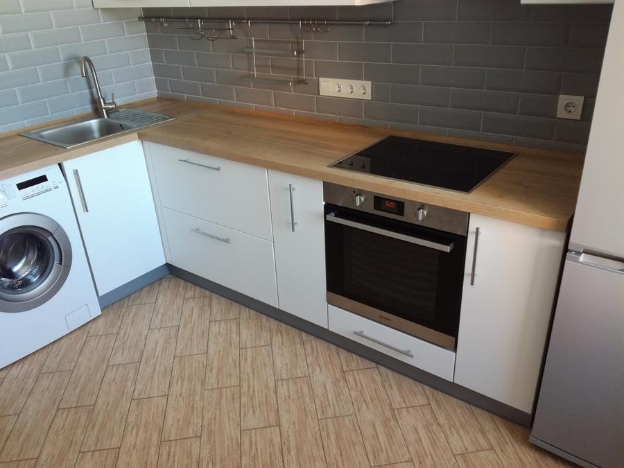 Белый кухонный гарнитур-Кухня МДФ в ПВХ «Модель 122»-фото4