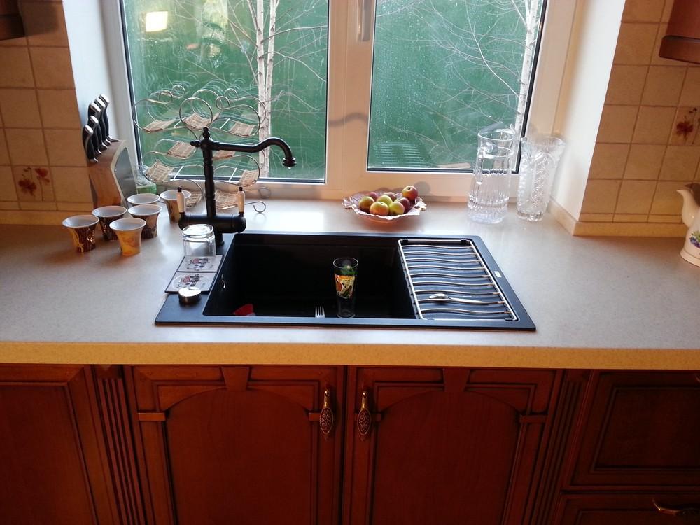 Встроенная кухня-Кухня из массива «Модель 211»-фото2