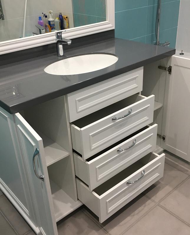 Мебель для ванной комнаты-Мебель для ванной «Модель 8»-фото3