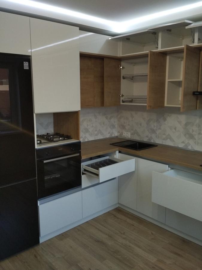 Акриловые кухни-Кухня из ЛДСП «Модель 426»-фото3