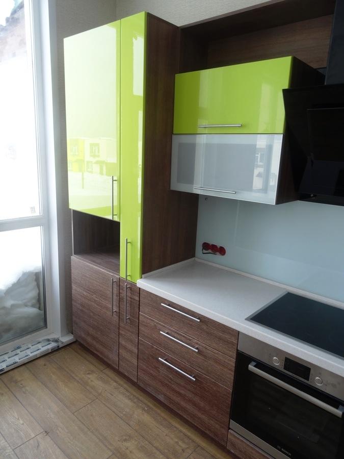 Встроенная кухня-Кухня МДФ в ПВХ «Модель 512»-фото4