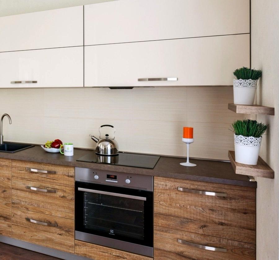 Акриловые кухни-Кухня из ЛДСП «Модель 417»-фото2