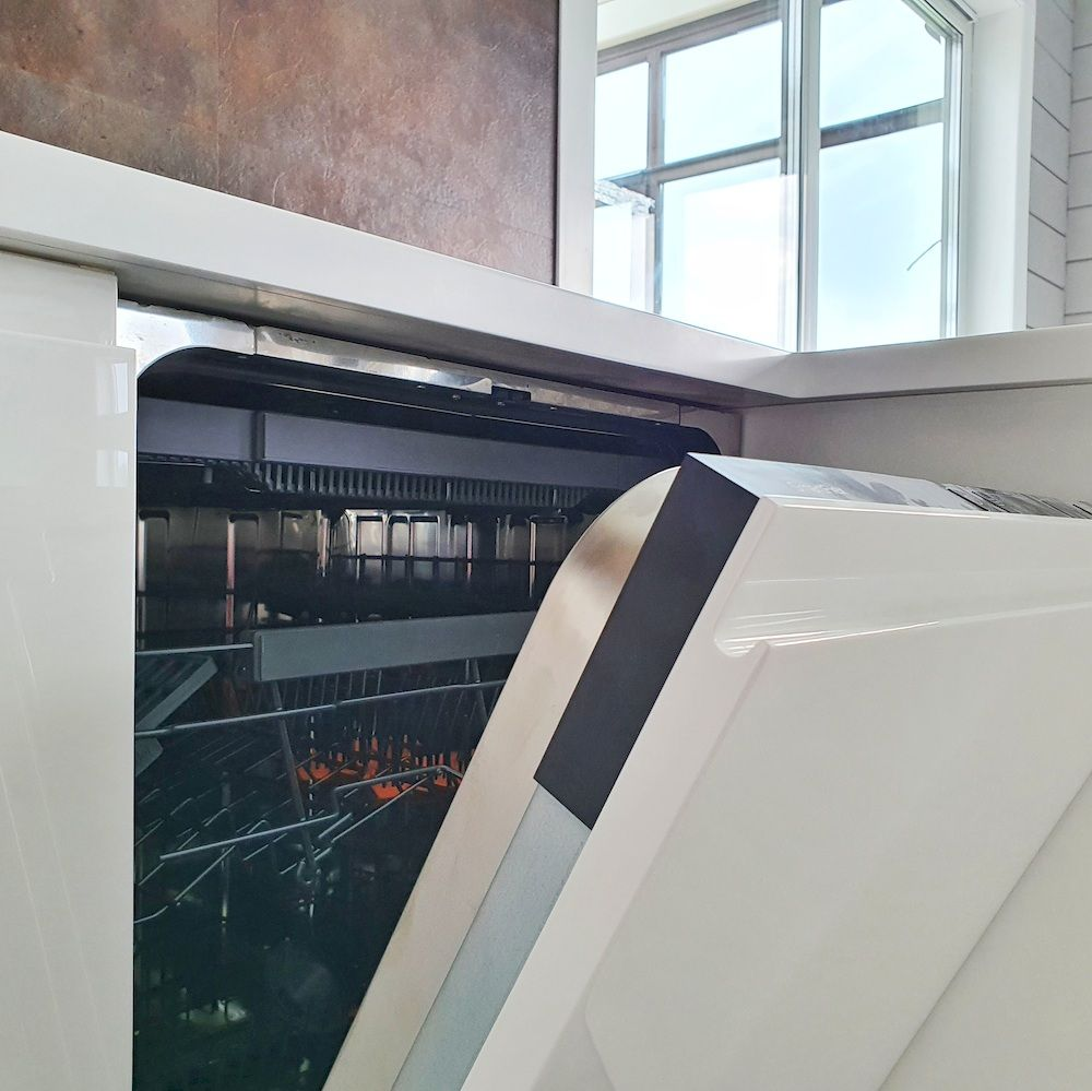 Белый кухонный гарнитур-Кухня МДФ в эмали «Модель 533»-фото10