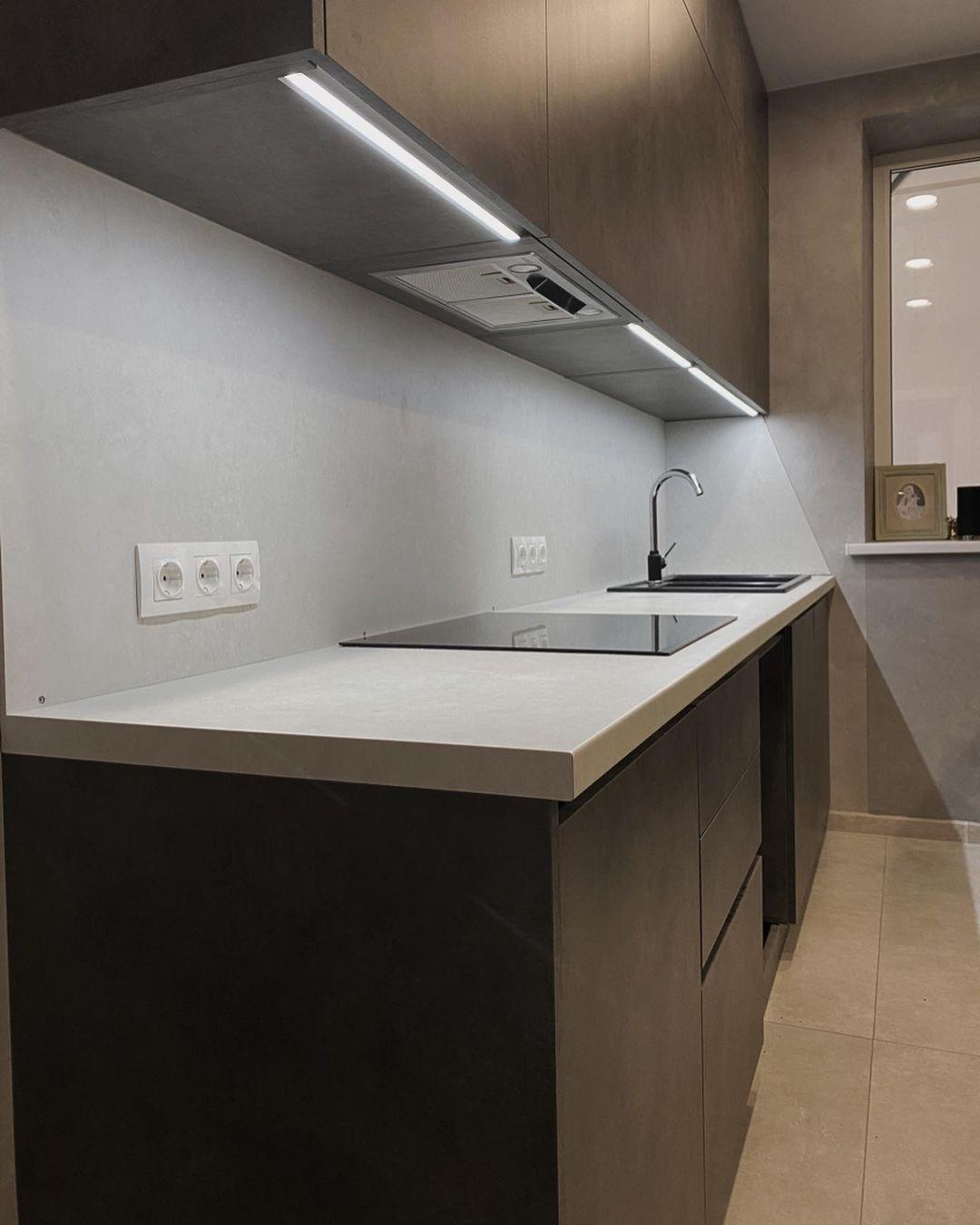 Купить кухню-Кухня из пластика «Модель 622»-фото2
