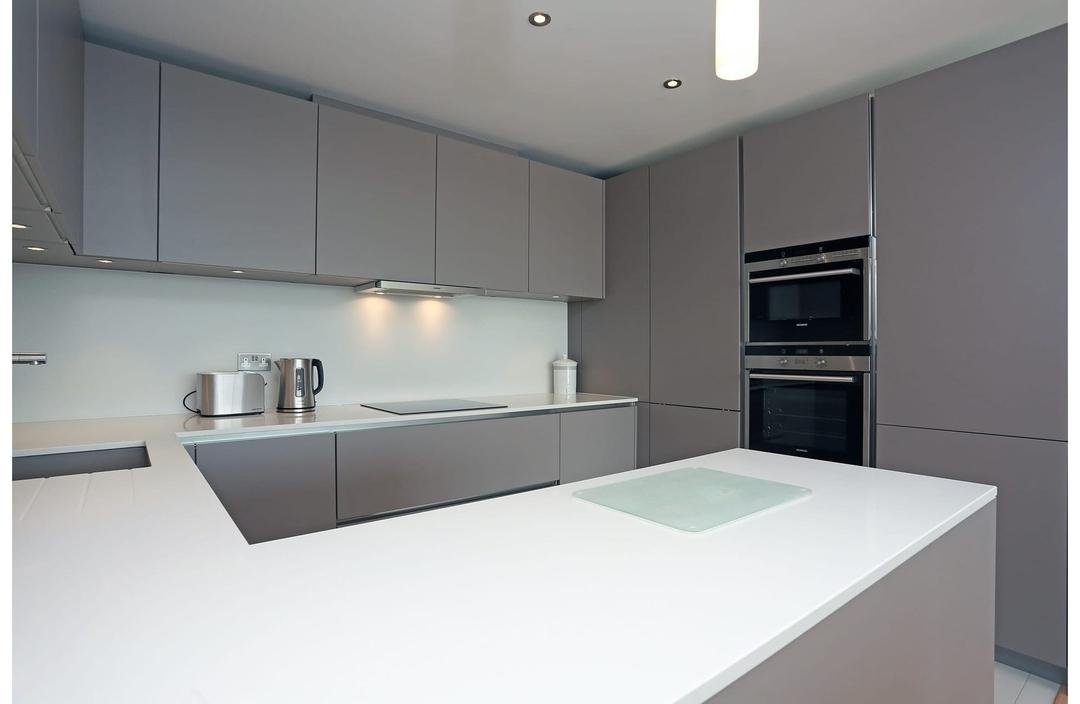 Дорогие и элитные кухни-Кухня МДФ в эмали «Модель 603»-фото3