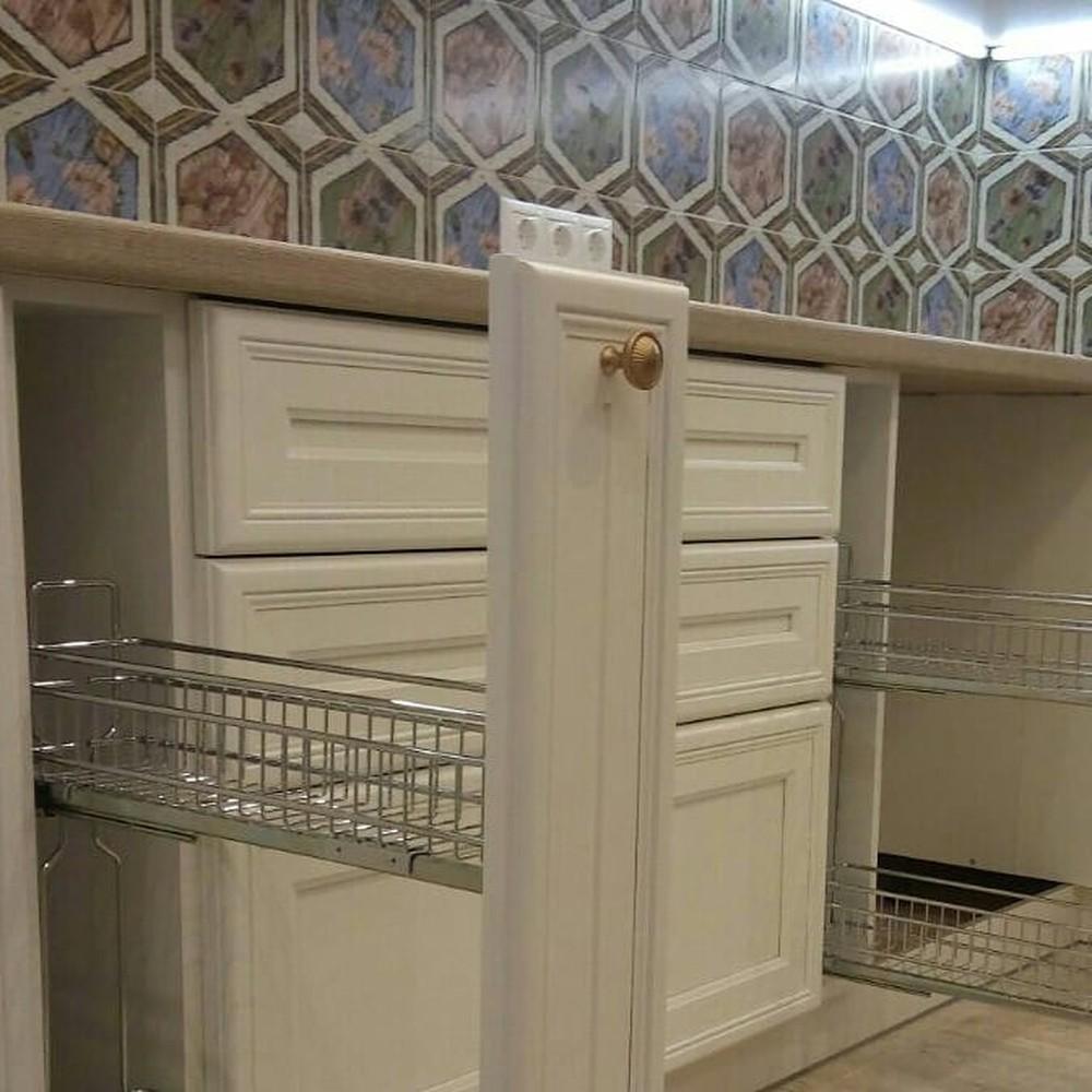 Акриловые кухни-Кухня из пластика «Модель 134»-фото8