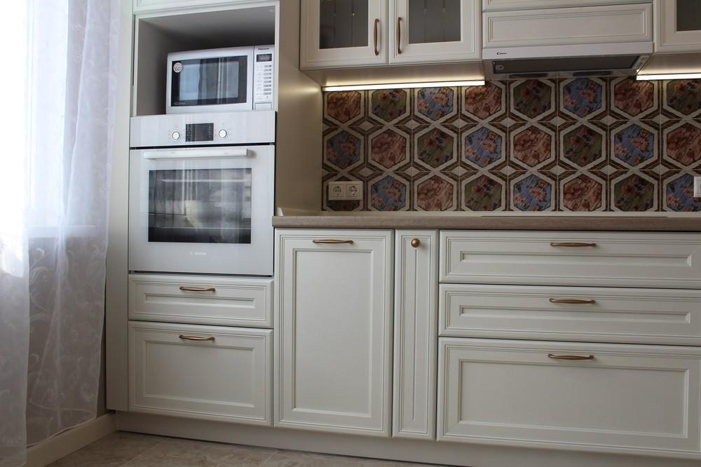 Акриловые кухни-Кухня из пластика «Модель 134»-фото3