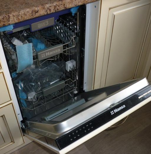 Белый кухонный гарнитур-Кухня из массива «Модель 234»-фото4