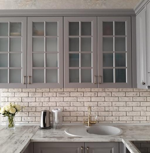 -Кухня МДФ в эмали «Модель 281»-фото4