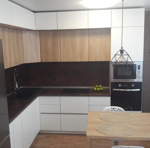 Белый кухонный гарнитур-Кухня из ЛДСП «Модель 176»-фото7