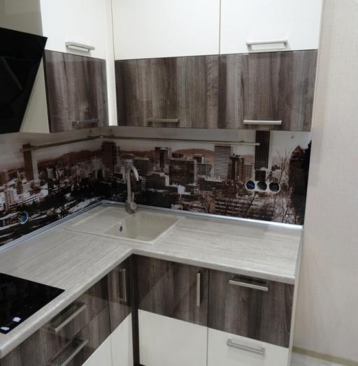 -Кухня МДФ в эмали «Модель 485»-фото12