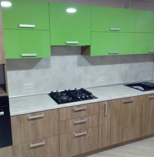 -Кухня из пластика «Модель 355»-фото29
