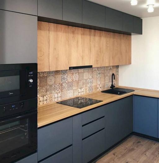 -Кухня МДФ в эмали «Модель 676»-фото25